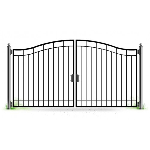 Сварить распашные ворота в николаеве плюсы и минусы железных ворот
